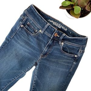 American Eagle Outfitters Kick Boot Medium Jeans